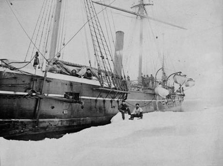 USS Jeannette marooned