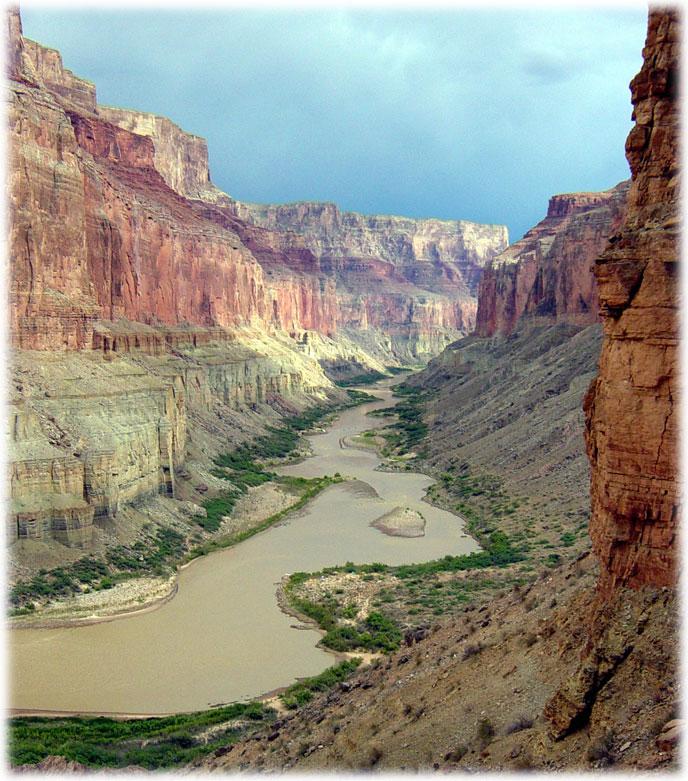Grand Canyon Colorado River courtesy NPS