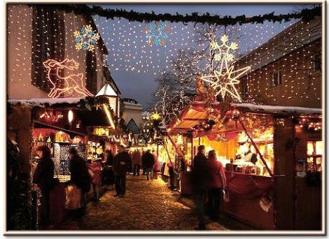 Christmas Market in Basel Switzerland