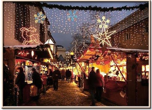 Christmas Market in Basel Switzerland