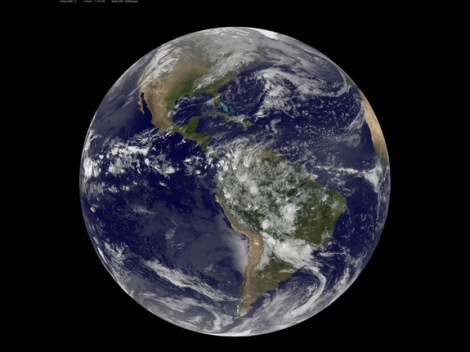 Big Blue Marble - our only home