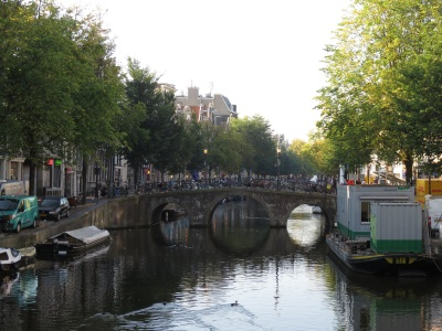 Amsterdam on the water Photo by Faul-Zeitler