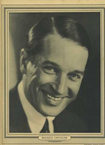 The debonair Maurice Chevalier Detroit Times