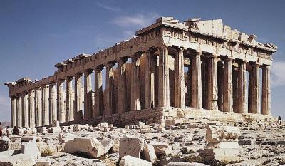 Parthenon Courtesy of Oneonta Univ