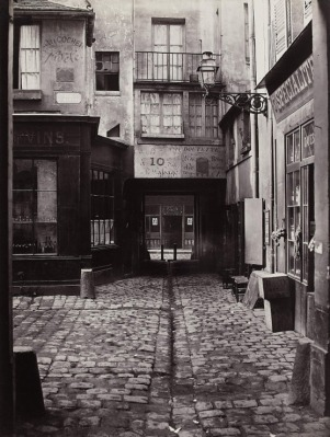 Passage Saint-Benoit Charles Marville 6th arr 1864-67