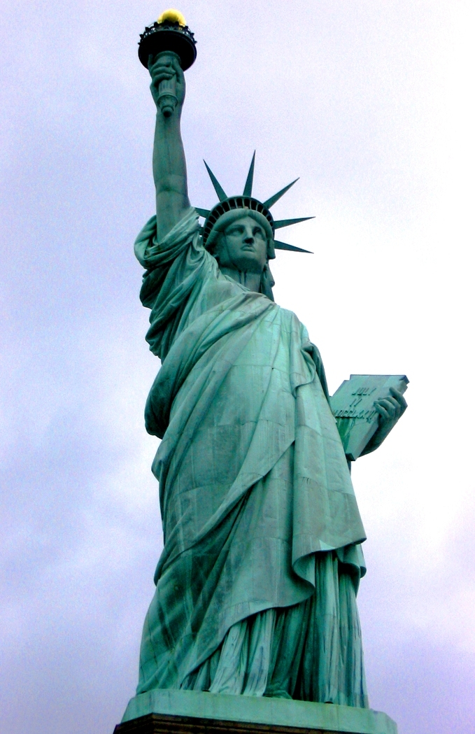 Statue Of Liberty Courtesy Of Wiki Commons Green News Update - Wikicommons