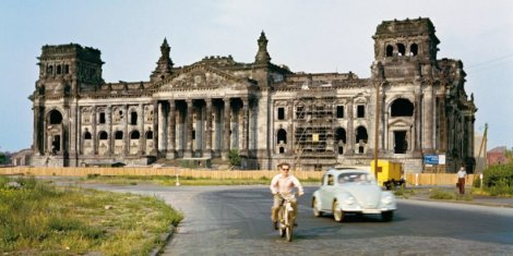 The Reichstag - after WWII © J.H.Darchinger, Bonn