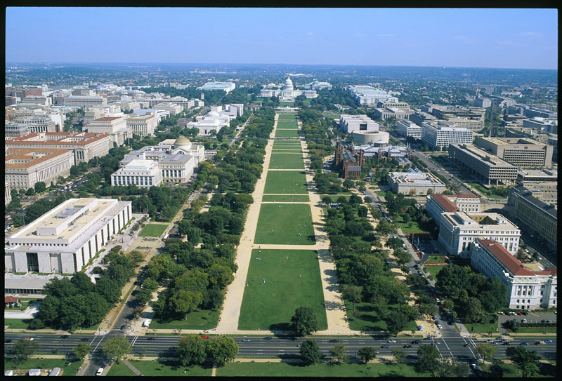 The U.S. National Mall Courtesy of eTravel tips