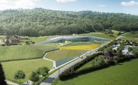 Lascaux Cave Painting Center rendering. Courtesy of Snohetta and Casson Mann