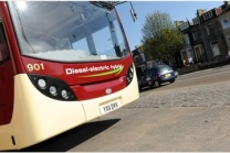 Bristol's new hybrid buses have pollution sensors to switch from diesel to electric power