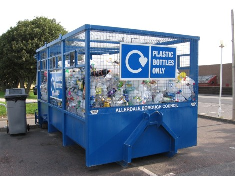 Plastic recycling Courtesy of Allerdale Borough Recycling