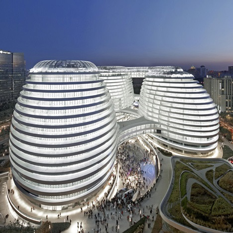 Galaxy Soho in Beijing by Zaha Hadid