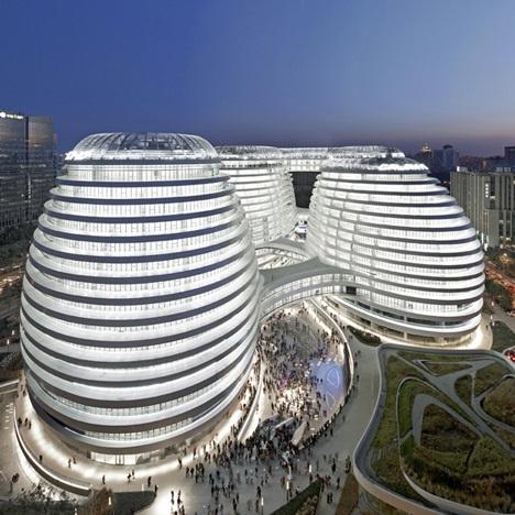 Galaxy Soho in Beijing by Zaha Hadid