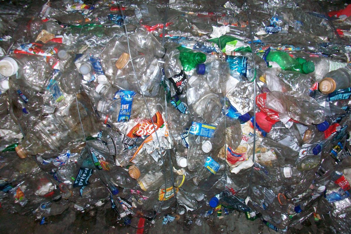 Plastic bottles. Photo courtesy of adashouse.com