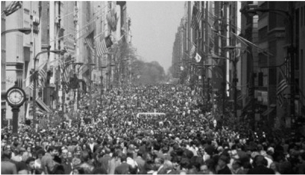 Earth Day 1970 in New York City Courtesy of Earth Day Network
