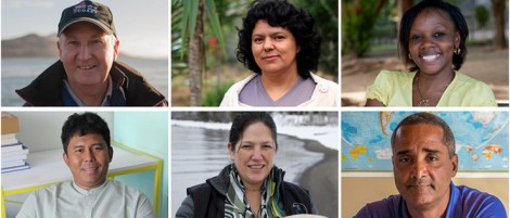 Goldman Environmental Prize Award winners 2015