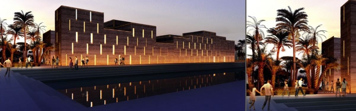 Morocco Pavilion at the Milan Expo