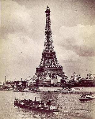 The Eiffel Tower 1889 (Copyright National Gallery of Art)