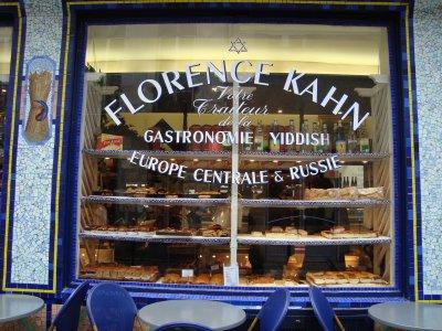 Florence Kahn bakery in the Marais