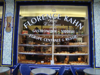 Florence Kahn bakery in the Marais