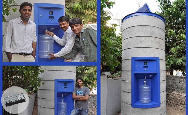 Water ATM Courtesy of the viewespaper
