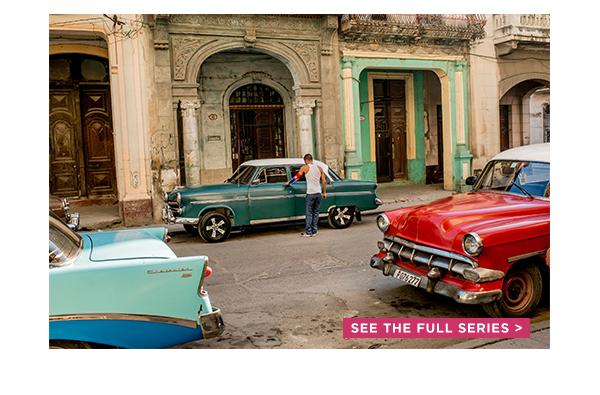 Cuban cars - look familiar ?