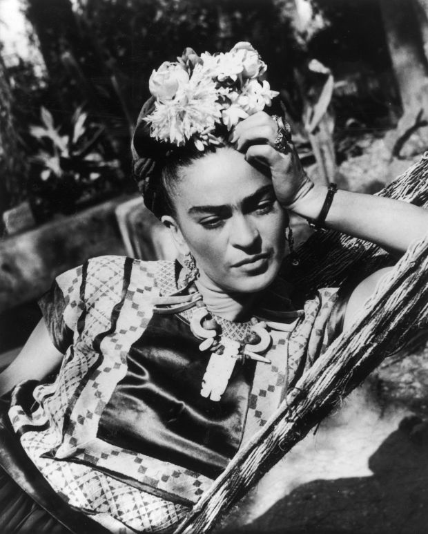 Frida Kahlo. Courtesy of Getty Images, all rights reserved.