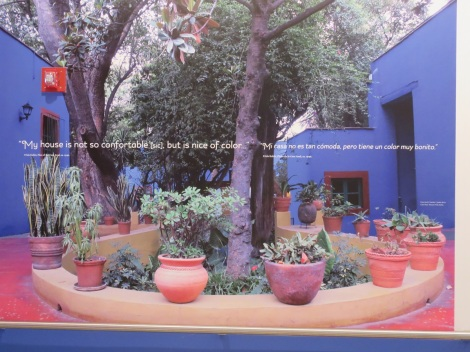 Photograph of the Casa Azul. Courtesy of Museo Frida Kahlo.