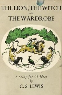 The Narnia Chronicles Book 1: The Lion, Witch and Wardrobe (1stEd) dustjacket 1950