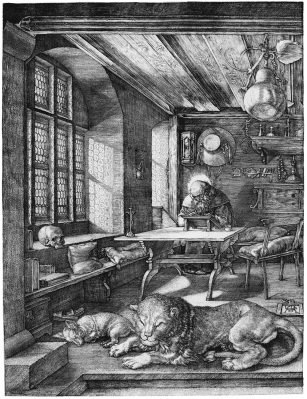 St. Jerome in His Study, Albrecht Durer