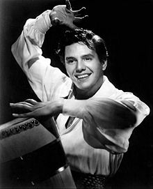 Desi Arnaz in 1950 as a musician.