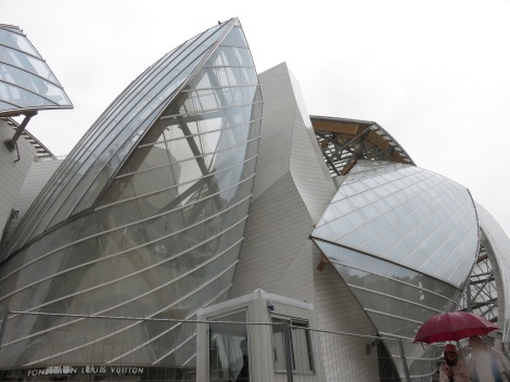 Fondation Louis Vuitton just days before its official opening (Oct 2014) Bobbie Faul-Zeitler CC - 3.0