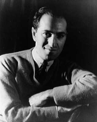 George Gershwin courtesy of wikipedia