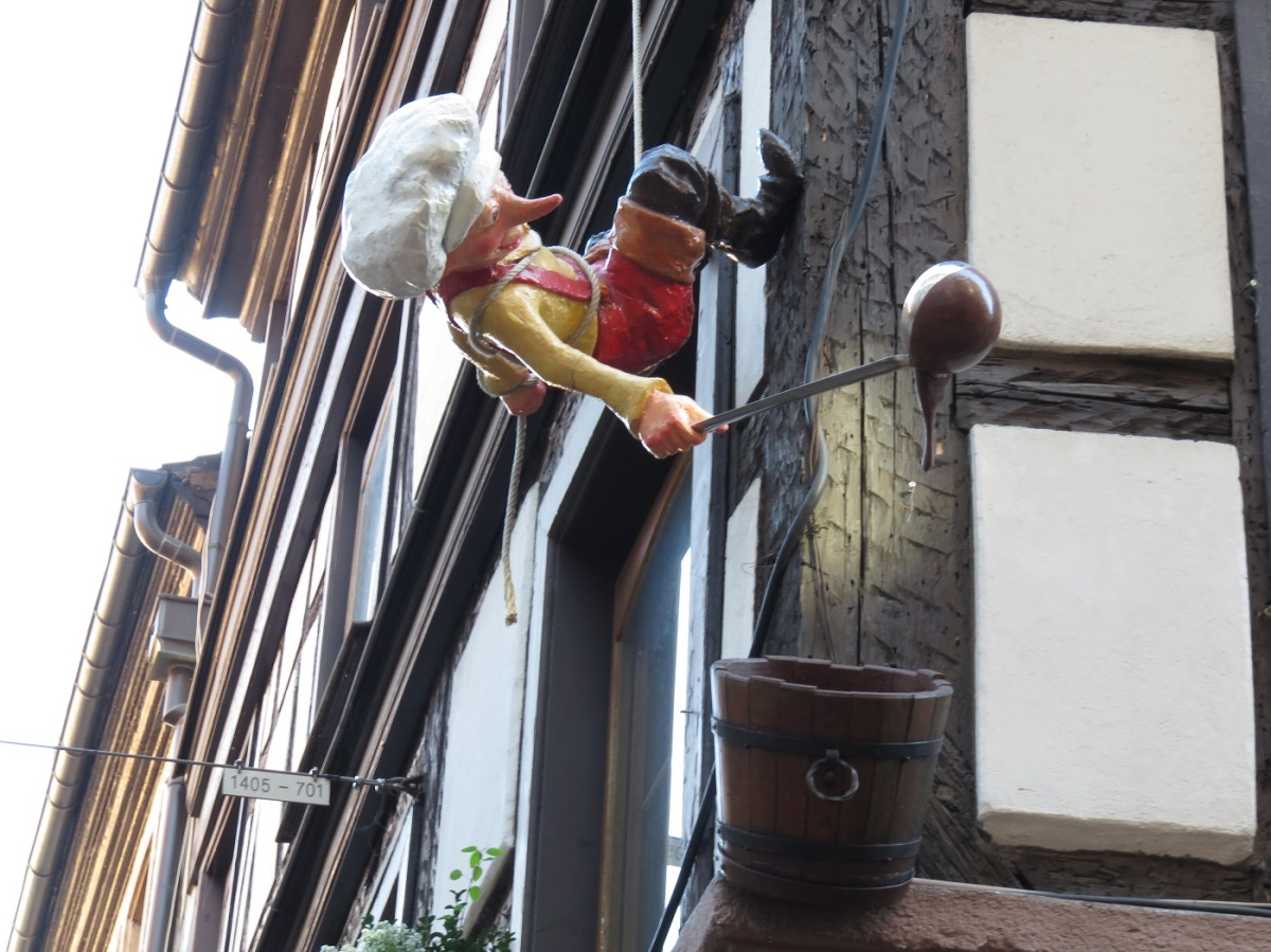 A visit to the chocolate shop in Strasbourg, France. (Bobbie Faul-Zeitler, CC 3.0).