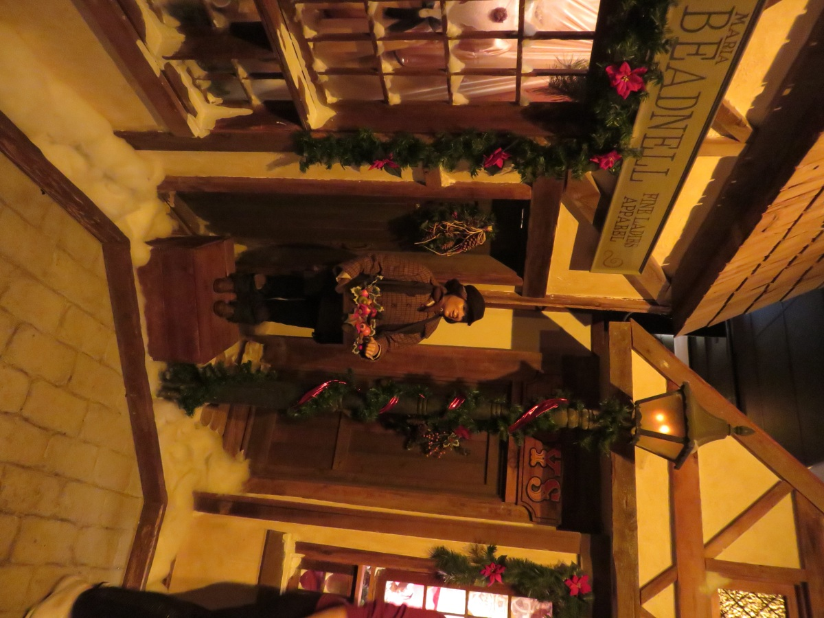 The Dickens Village in Macy's (the former Wanamaker's) in Philadelphia depicts A Christmas Carol with animated figures and sets. (Bobbie Faul-Zeitler, CC 3.0)