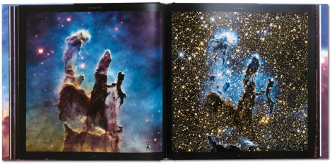 Double page spread from Expanding Universe