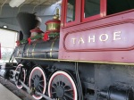 The beautiful Tahoe, an 1875 steam engine was part of the rail line that served the Comstock Lode. Now in the Pennsylvania Railroad Museum in Strasburg PA. (Bobbie Faul-Zeitler, CC 3.0)