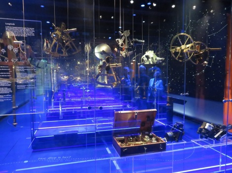 Navigational instruments in Amsterdam's national maritime museum (Bobbie Faul-Zeitler CC-3.0)