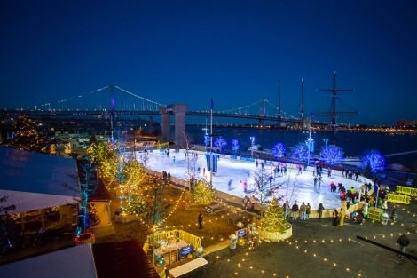 Blue Cross Riverrink Park Photo by Matt Stanley
