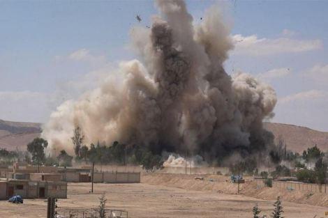 The destruction of Palmyra, a World Heritage site