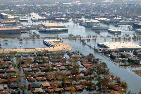 Storm surge effects Courtesy of NOAA