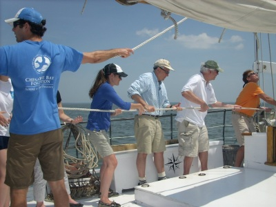CBF sailing on the Bay Photo by Roberta Faul-Zeitler CC 3.0