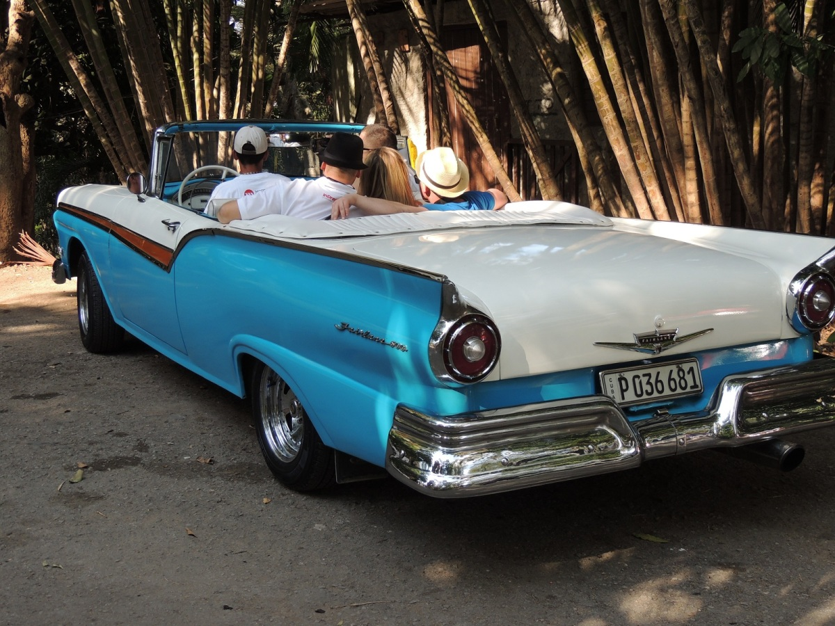 Out for a spin in a restored Ford Fairlane