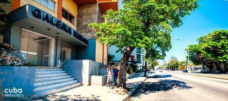 Habana Gallery in Vedado © Cuba Absolutely, 2014