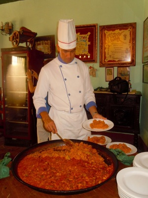 Paella - the Cuban way! Photo by Meg Maguire