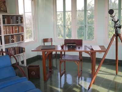 Papa Hemingway's writing desk