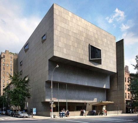 "The Marcel Breuer-designed Whitney Museum is now the ""Met Breuer"" museum of contemporary art. Photo by Ezra Stoller/Esto"