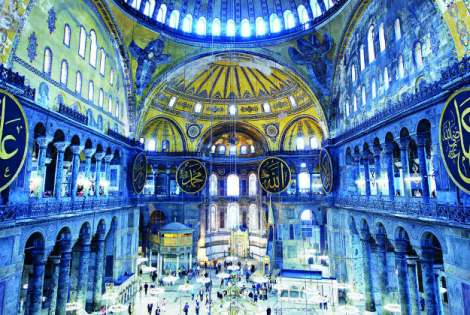 Hagia Sofia in Istanbul, Turkey, from the Lonely Planet Ultimate Places list