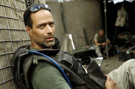 Sebastian Junger, best known for The Perfect Storm, writes about disbanded bands of brothers in Tribe. Photo by Tim Heatherington