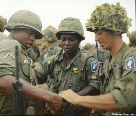 173rd Airborne prepare for the first major ground combat operation by US forces of the Vietnam War